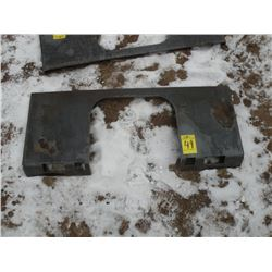 Brute heavy duty weld-on tool plate -New