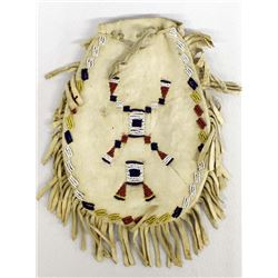 Antique Plains Indian Beaded Pouch