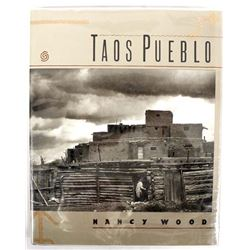 Taos Pueblo by Nancy Wood, Hardback Book