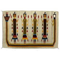 Large Mexican Yei Rug