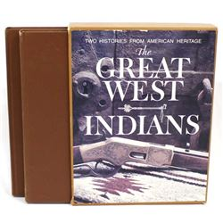 The Great West & Indians, Boxed Hardback Book Set