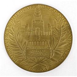 1915 Panama-Pacific International Exposition Medal