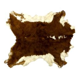Small Herefored Steer Hide
