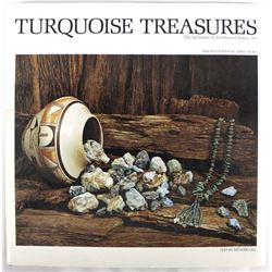 Turquoise Treasures by Spencer Gill, Hardback Book