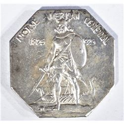 1925 NORSE AMERICAN MEDAL THICK SILVER
