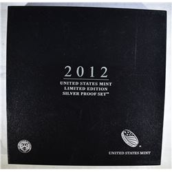 2012 LIMITED EDITION U.S.SILVER PROOF SET