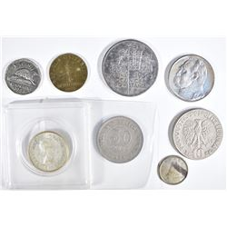 MIXED FOREIGN POLAND & CANADA MOSTLY SILVER