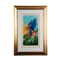"""""""The Equestrienne"""" by LeRoy Neiman - Limited Edition Serigraph"""