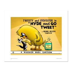 Hyde and Go Tweet- color by Looney Tunes