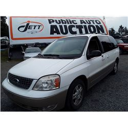 M2 --  2004 Ford Freestar , White , Unknown  KM's