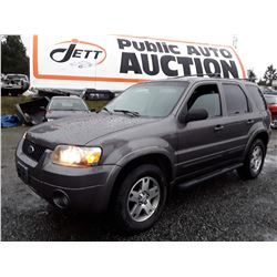 N1 --  2005 FORD ESCAPE , Grey , 289343  KM's