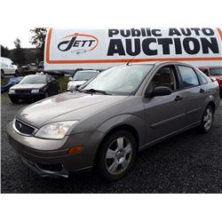 A8 --  2005 FORD FOCUS ZX , Brown , 232831