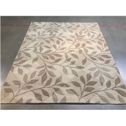MODERN HAND MADE , CARVED & TEXTURE  RUG 8x10