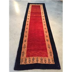 """MAGNIFICENT AUTHENTIC PERSIAN GABBEH RUNNER 2'.6""""X8'.8"""""""