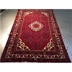 AUTHENTIC HAND KNOTTED PERSIAN HAMADAN RUG 3.3x5.2