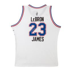 LeBron James Signed 2015 All-Star Jersey (UDA COA)