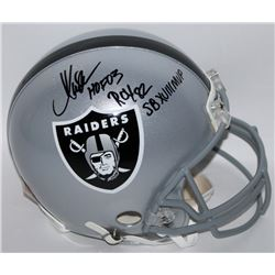 "Marcus Allen Signed Raiders Full-Size Authentic Proline Helmet Inscribed ""HOF 03"", ""ROY 82""  ""SB XVI"
