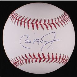 Cal Ripken Jr. Signed OML Baseball (MLB Hologram)