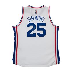 Ben Simmons Signed 76ers Authentic Jersey (UDA COA)