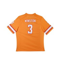 """Jameis Winston Signed Limited Edition Buccaneers Jersey Inscribed """"2015 1st Overall Pick"""" (UDA COA)"""