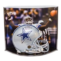 """Emmitt Smith Signed Cowboys LE Full-Size Authentic On-Field Helmet Inscribed """"3x SB Champs""""  """"HOF 20"""