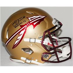 Jameis Winston Signed LE Florida State Seminoles Full-Size Authentic On-Field Speed Helmet Inscribed