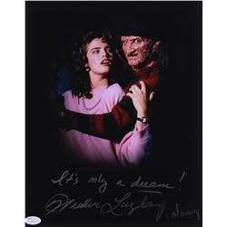 "Heather Langenkamp Signed ""Nightmare on Elm Street"" 11x14 Photo Inscribed ""It's Only a Dream!""  ""Nan"