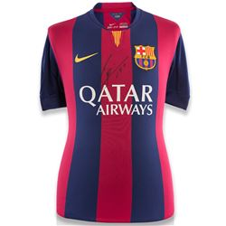 "Lionel Messi Signed Barcelona Jersey Inscribed ""Leo"" (Icons COA)"