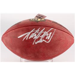 """Adrian Peterson Signed """"The Duke"""" Official NFL Game Ball (Jersey Source COA  Fanatics Hologram)"""