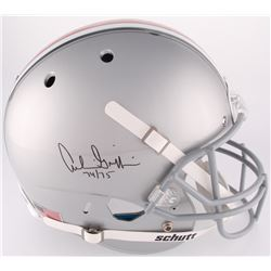 """Archie Griffin Signed Ohio State Buckeyes Full-Size Helmet Inscribed """"74 / 75"""" (Steiner COA)"""