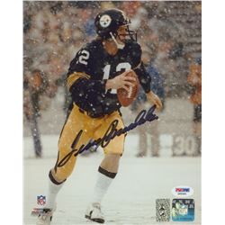Terry Bradshaw Signed Steelers 8x10 Photo (PSA COA  Bradshaw Hologram)