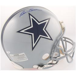 Drew Henson Signed Cowboys Full-Size Authentic On-Field Speed Helmet (TriStar)