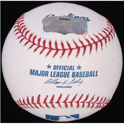 Frank Thomas Signed OML Baseball (Radtke Hologram)