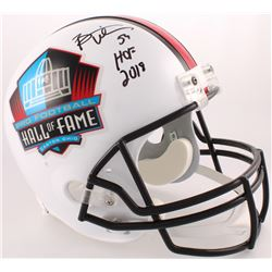 "Brian Urlacher Signed Hall of Fame Commemorative Full-Size Helmet Inscribed ""HOF 2018"" (JSA COA)"