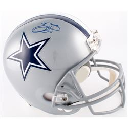 Emmitt Smith Signed Cowboys Full-Size Helmet (Schwartz COA  Prova Hologram)
