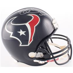 Reggie Bush Signed Texans Full-Size Helmet (PSA COA)