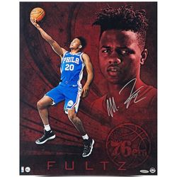 "Markelle Fultz Signed ""Debut"" 76ers 16x20 Photo (UDA COA)"