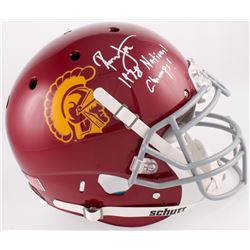 "Ronnie Lott Signed USC Trojans Full-Size Authentic Helmet Inscribed """" (Radtke COA  Lott Hologram)"