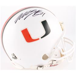 Willis McGahee Signed Miami Hurricanes Full-Size Authentic On-Field Helmet (JSA COA)