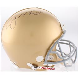 Joe Montana Signed Notre Dame Fighting Irish Full-Size Authentic On-Field Helmet with Stand (Steiner