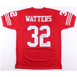 """Ricky Watters Signed 49ers Jersey Inscribed """"SB XXIX Champs"""" (SGC COA)"""