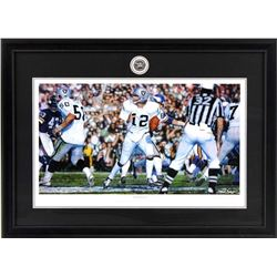 "Steve Skipper Collection ""Undeniable"" 16x19 Custom Framed Ken Stabler Oakland Raiders Commemorative"