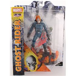 "Stan Lee Signed ""Ghost Rider"" Marvel Select Action Figure (Lee Hologram  Radtke COA)"