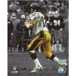 Terry Bradshaw Signed Steelers 8x10 Photo (Radtke Hologram)