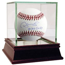 """Gary Sanchez Signed OML Baseball With High Quality Display Case Inscribed """"Yo Soy Gary"""" (Steiner COA"""