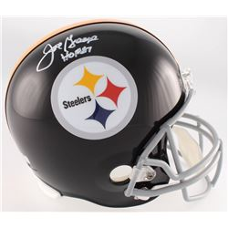 "Joe Greene Signed Steelers Full-Size Helmet Inscribed ""HOF 87"" (Radtke COA)"