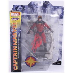 "Stan Lee Signed ""Captain Marvel Select"" Marvel Select Action Figure (Radtke COA  Lee Hologram)"