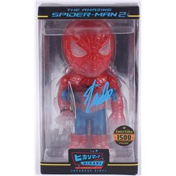 "Stan Lee Signed ""Spider-Man 2"" Marvel Hikari Vinyl Action Figure (Radtke Hologram  Lee Hologram)"