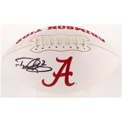 "Derrick Henry Signed Alabama Crimson Tide Logo Football Inscribed ""'15 Heisman"" (Radtke COA  Henry H"
