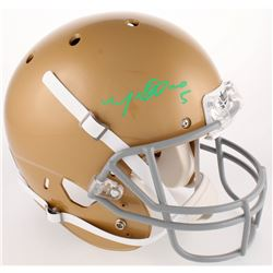 Manti Te'o Signed Notre Dame Fighting Irish Full-Size Helmet (Radtke COA)